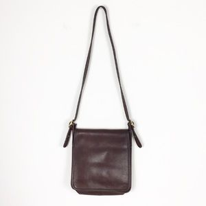 Coach Brown Leather Vintage Crossbody